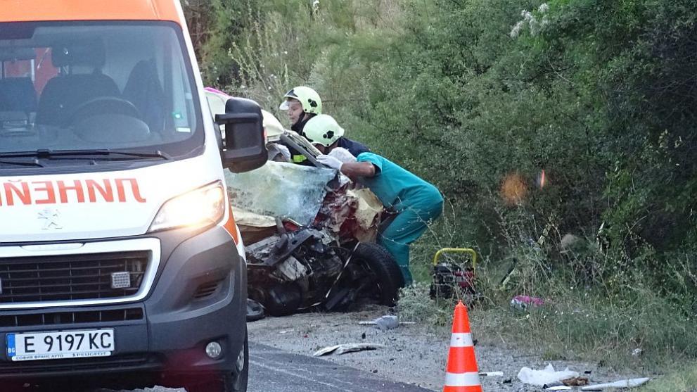 23-годишен загина в тежка катастрофа край Пловдив
